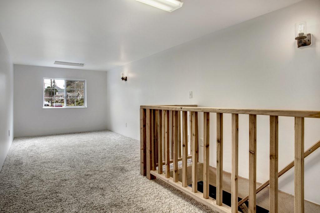 Contemporary Rainier Beach Home, Garage Loft