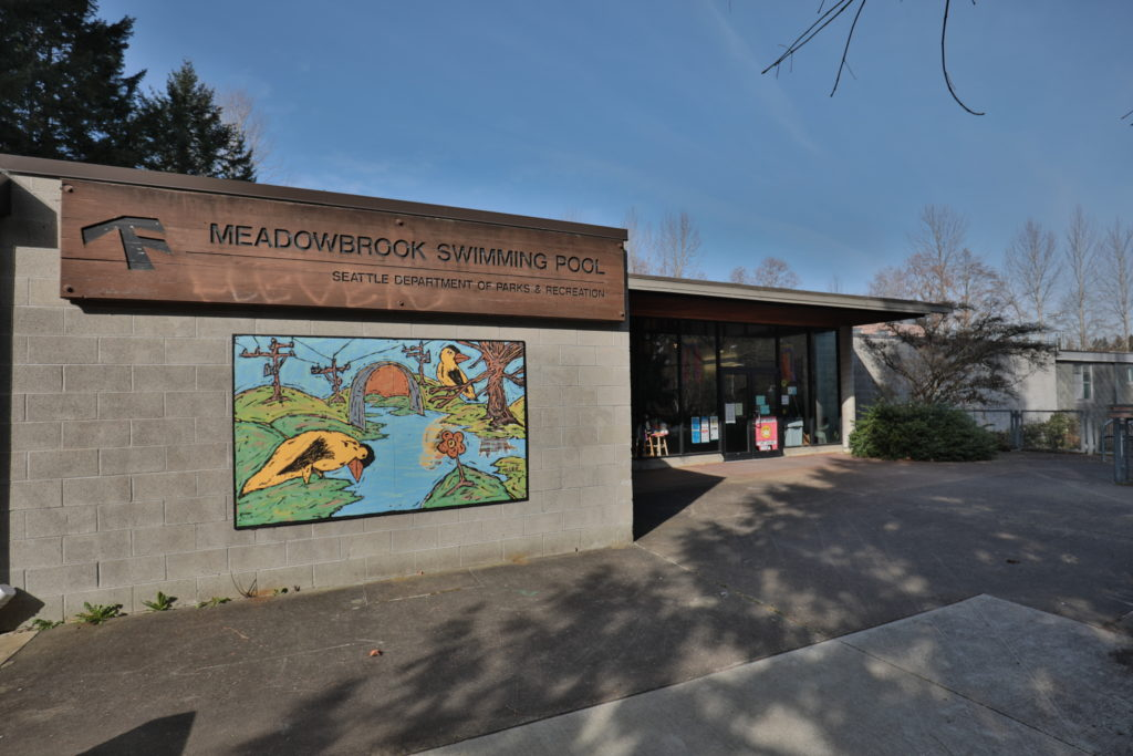 Meadowbrook Swimming Pool in North Seattle