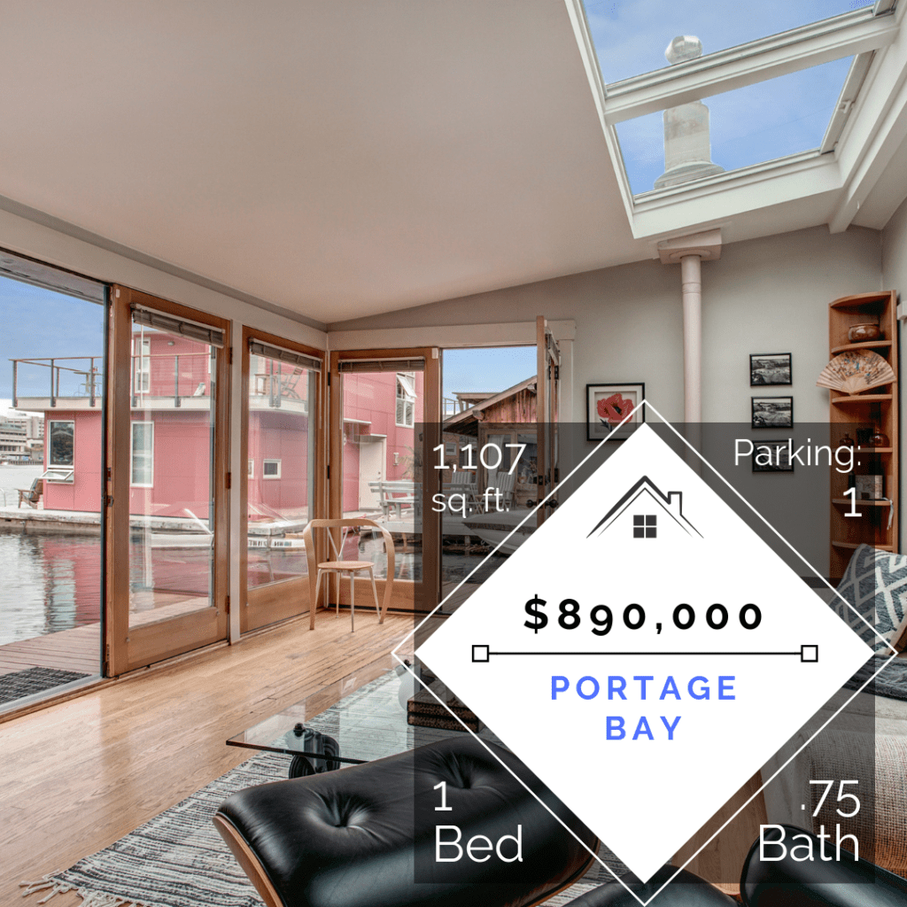 Social Media to Sell a Portage Bay Floating Home