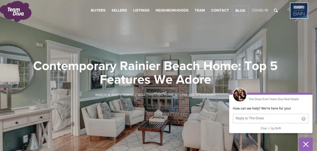 Blog of the Rainier Beach Home
