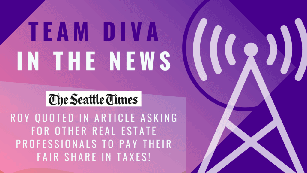 Roy Quoted in Seattle Times - Seattle Payroll Tax