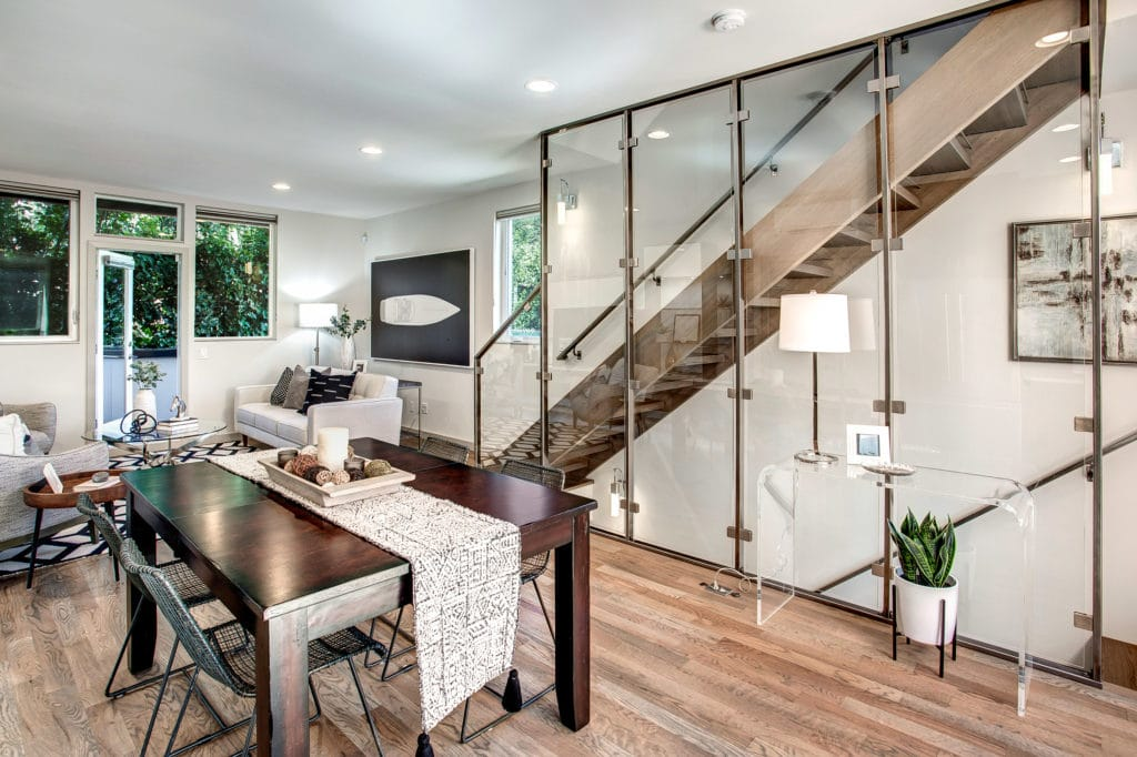 North Beacon Hill Townhouse Main Living Level