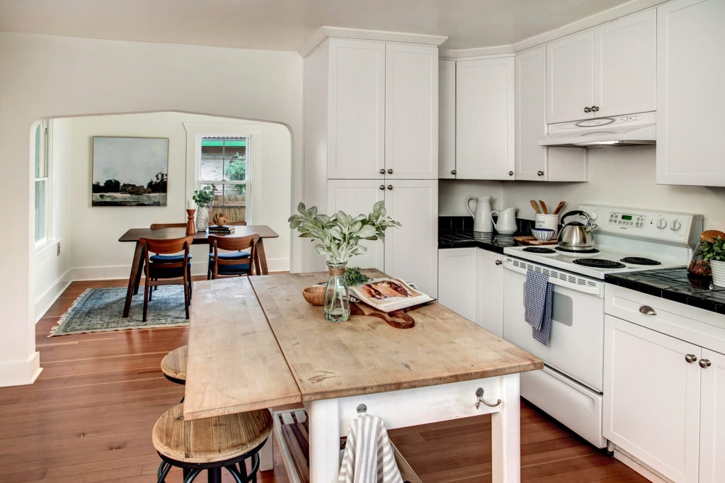Rainier Valley Farmhouse Kitchen