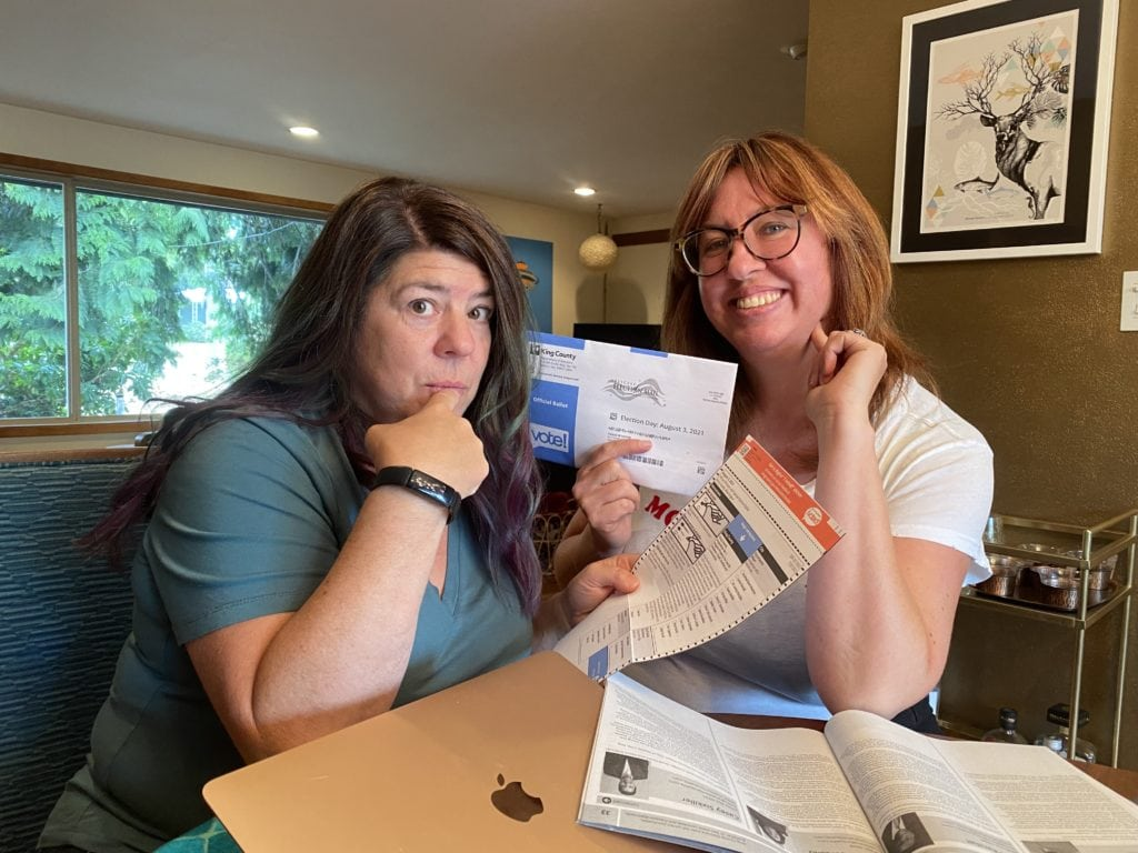 Divas Vote in the Seattle Primary in 2021