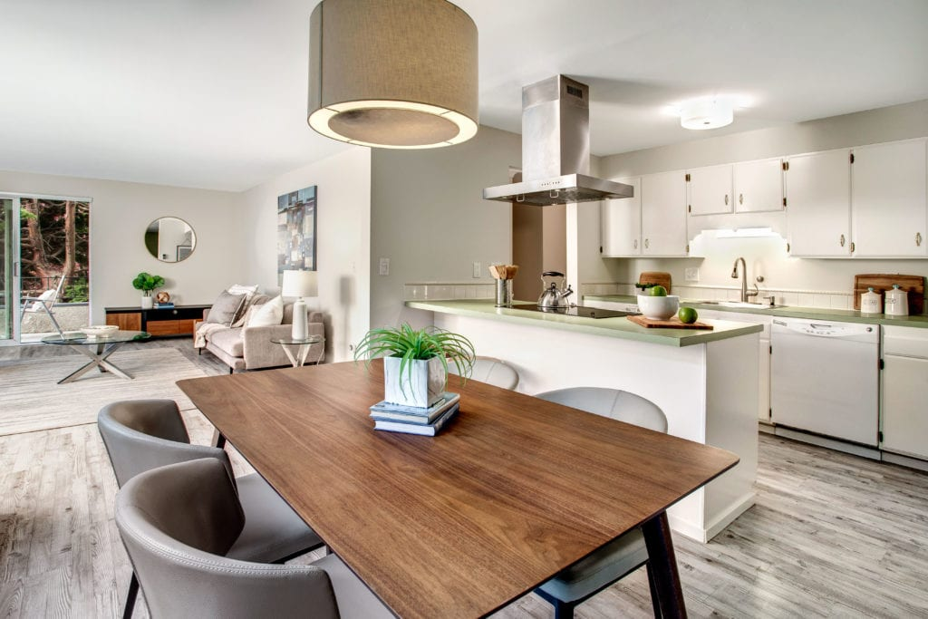 Queen Anne Condo Open Living Area