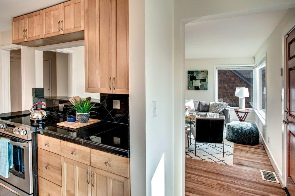 West Seattle View Home Kitchen