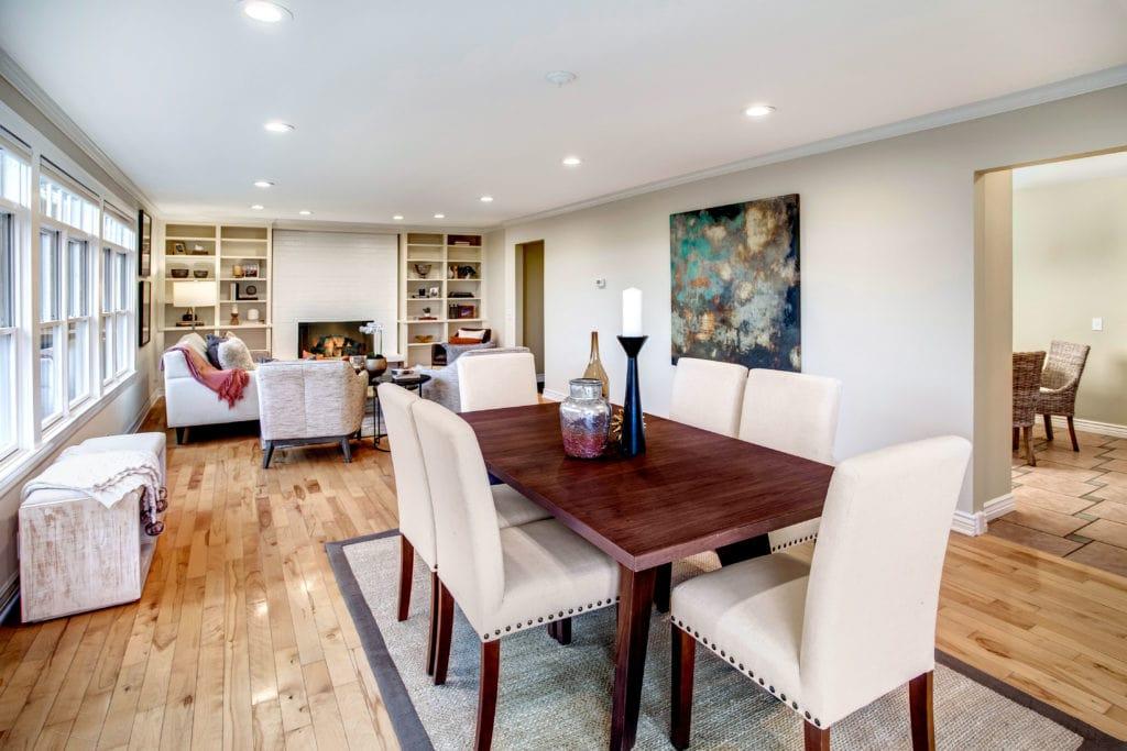 Seward Park Home Dining Area