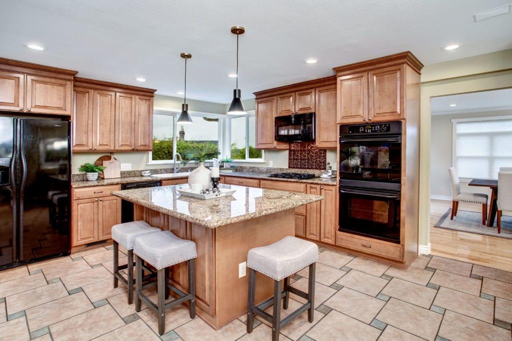Seward Park Home Open Kitchen