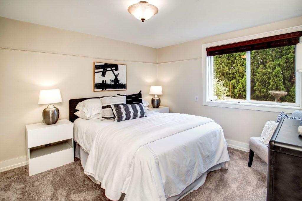 Seward Park Home Basement Bedroom