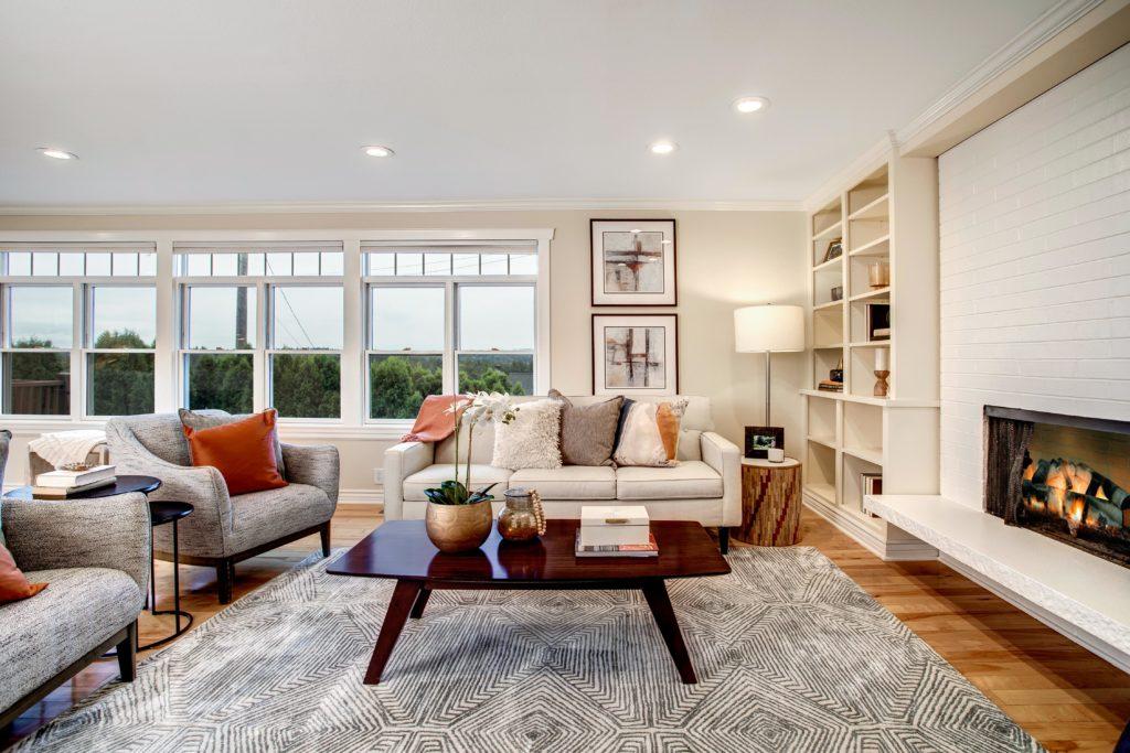 Seward Park Home Open Living Area