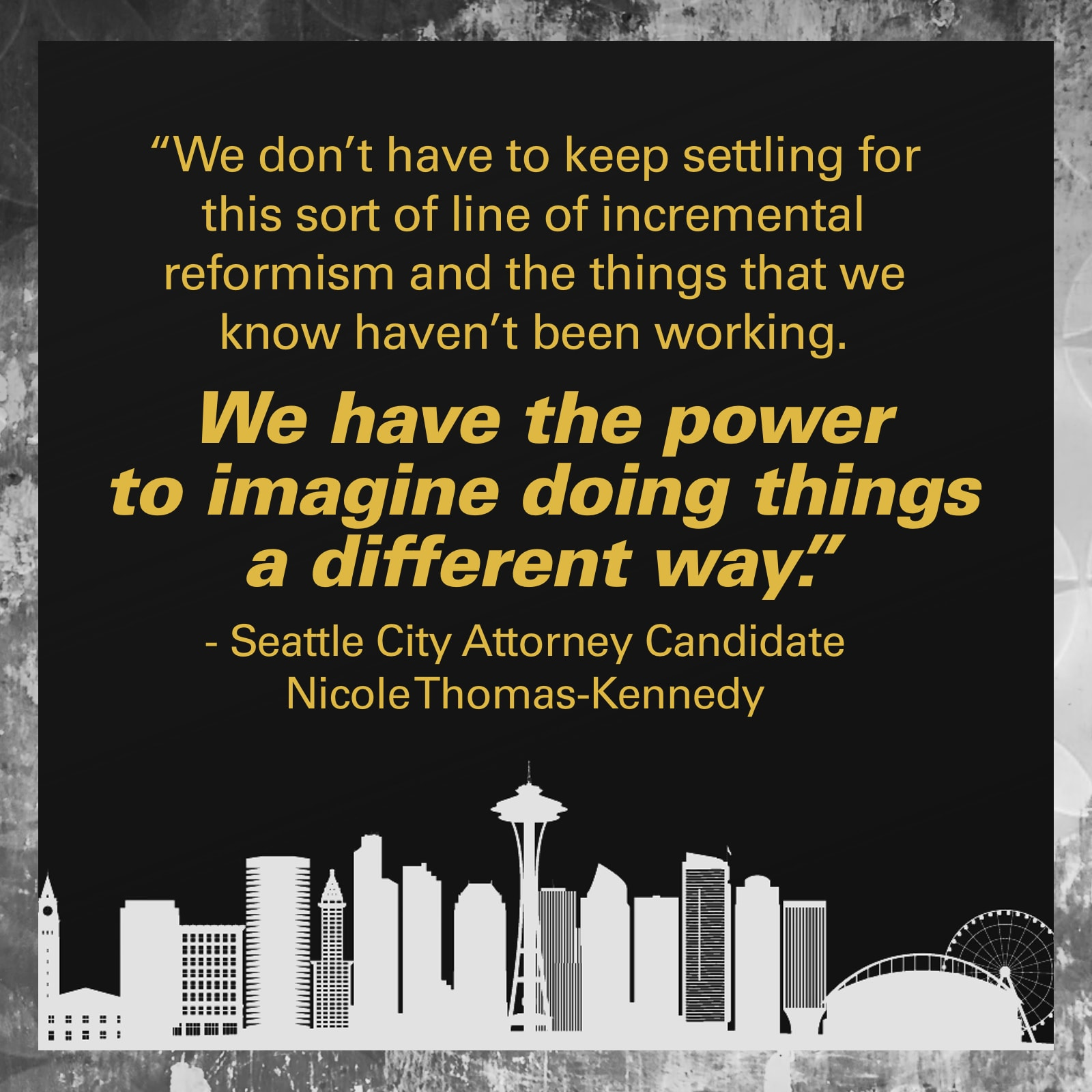 Team Diva Endorses Nicole Thomas-Kennedy for Seattle City Attorney