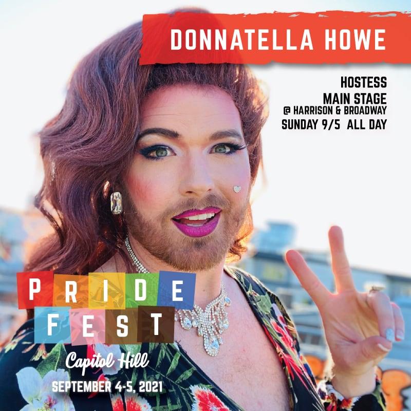 DonnaTella Howe Seattle Pride 2021