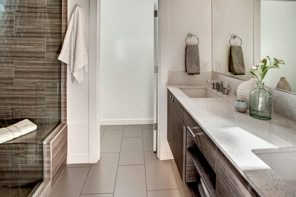 Madison Valley Townhouse Owners Suite Bathroom